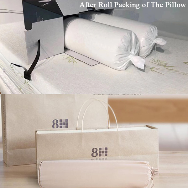 pillow roll packing machine
