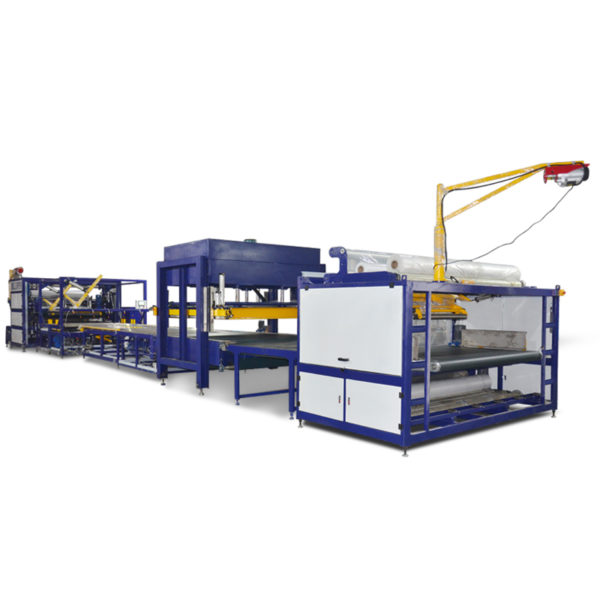 Mattress Compress Fold Roll Packing Machine