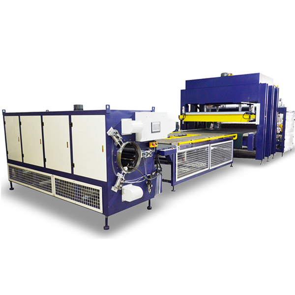 mattress compression packaging machine