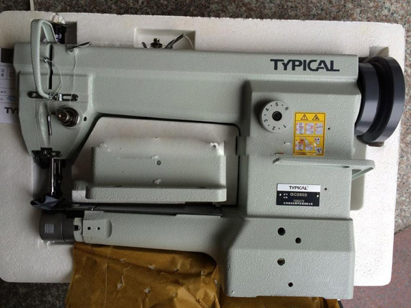 Typical head mattress tape edge machine