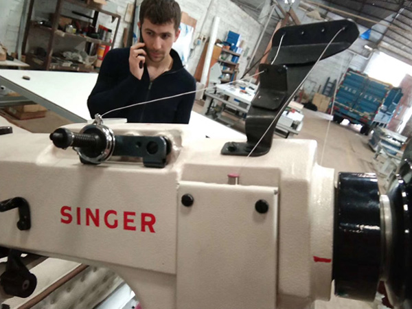 singer mattress tape edge machine