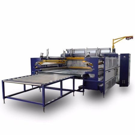 Mattress auto bagging machine